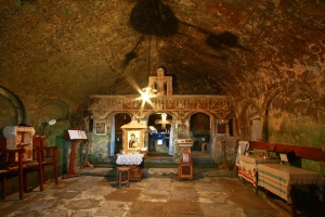 Inside the Stone Ravens Monastery