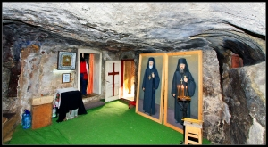 First Room, home to a catholic 'altar'