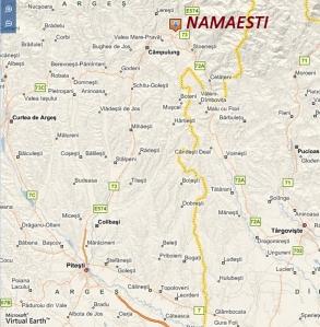 Namaesti on the Map