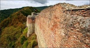 Poenari Castle - South Wall