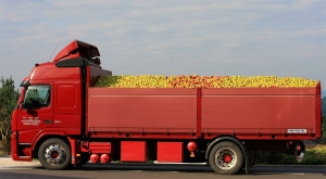 Red Truck, Green Apples