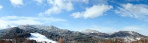 """Panorama shot from """"La Calugari"""""""