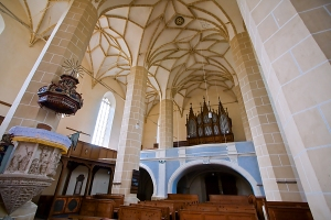 Biertan Church - Inside