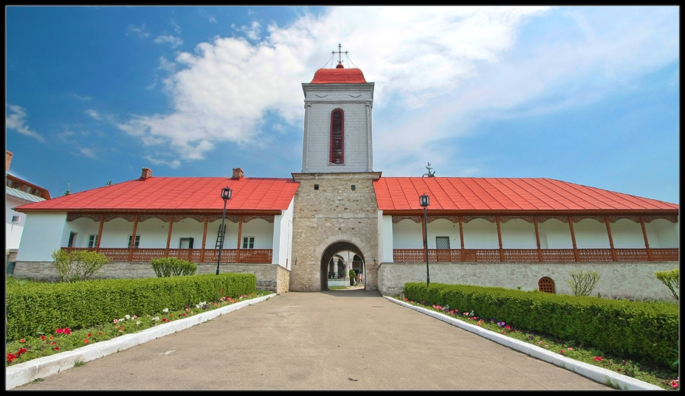 Ciolanu Monastery Outside