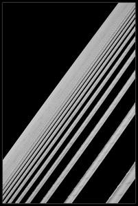 Abstract Bridge Ropes