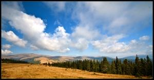 Mountainscape near Romani peak