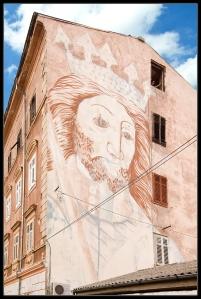 Neptune Building in Pula, Croatia