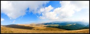 Panoramic view near Romani PeakPanoramic view near Romani Peak