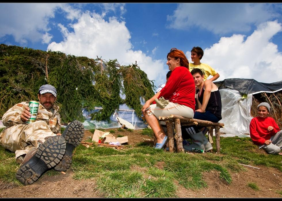 Mushroom gatherers