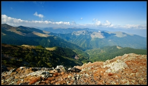 The beauty of the Capatanii Mountains