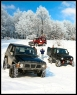 4x4 winter poster