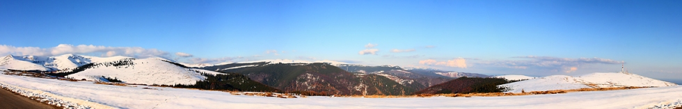 Ranca winter panorama