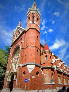 Budapest - Red Brick Church