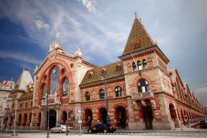 Budapest - Red Brick Railway Station