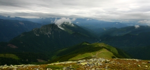 Nedei Peak Panorama