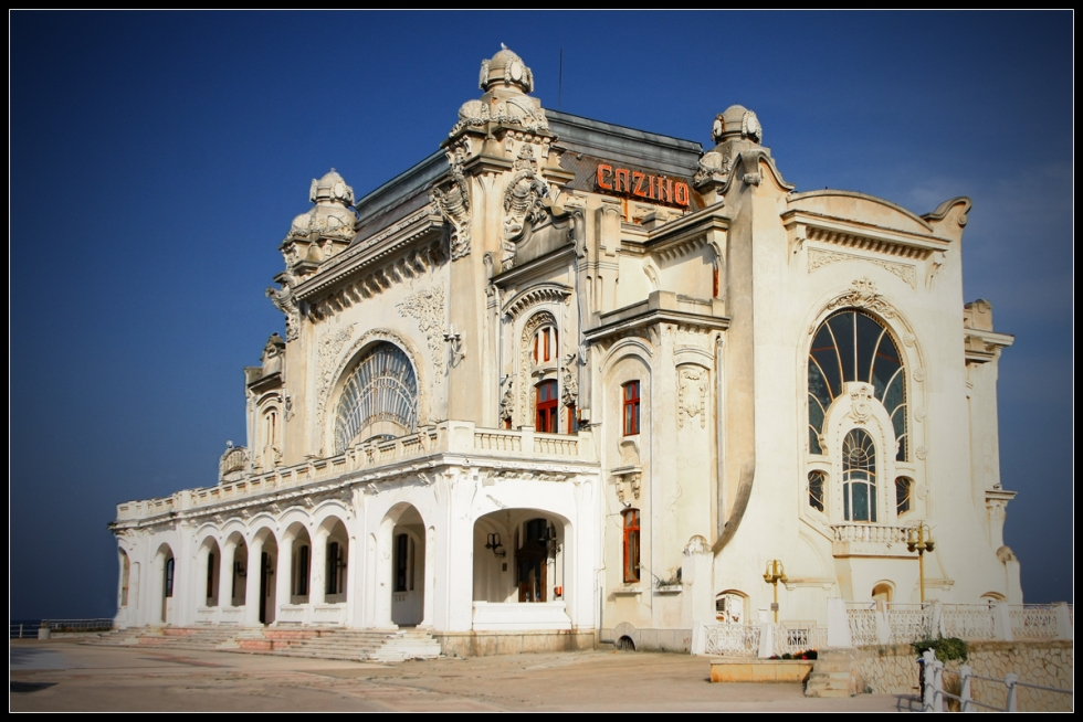 Constanta Casino, side view