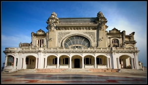 Constanta Casino, full frontal view