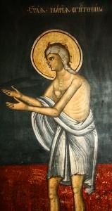 Govora - Odd Depiction of St. Mary