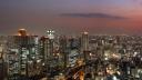 Osaka Skyline by Night (HD 1080p)