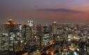 Osaka Skyline by Night