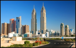 Dubai Knowledge Village skyline