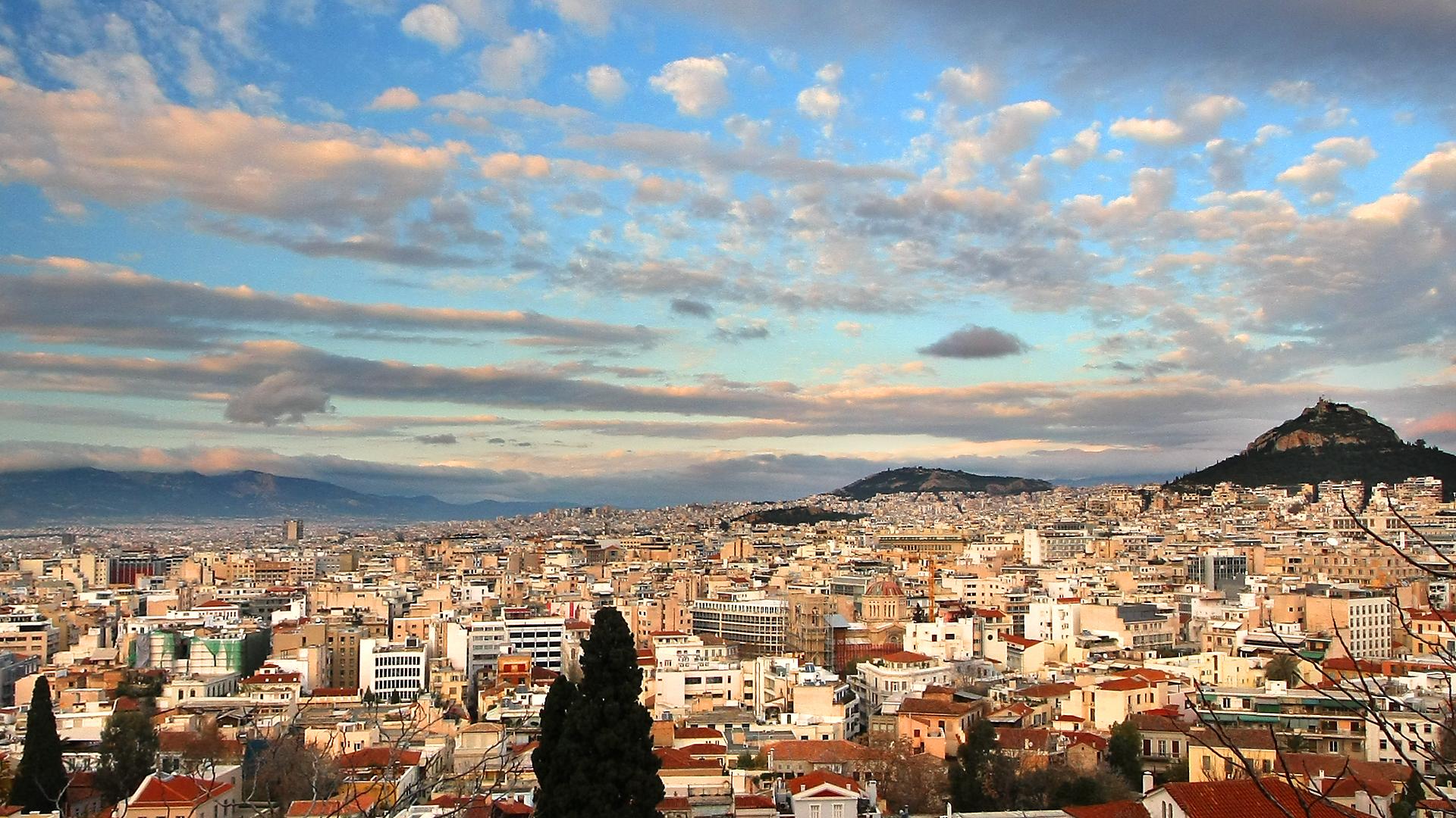 Афины за 1 день