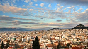 Panoramic view from the Akropolis