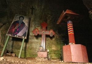 St Casian Cave - Inside
