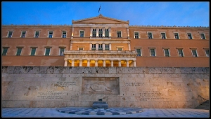 Parliament Building in Syntagma Square, Athens, Greece