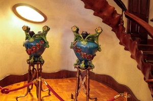 Decorations at Casa Batlo