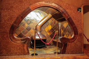 Fireplace at Casa Batlo