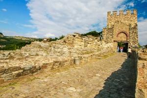 Entrance to the Tsarevets Castle