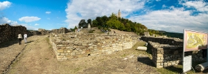 Tsarevets Castle Panorama