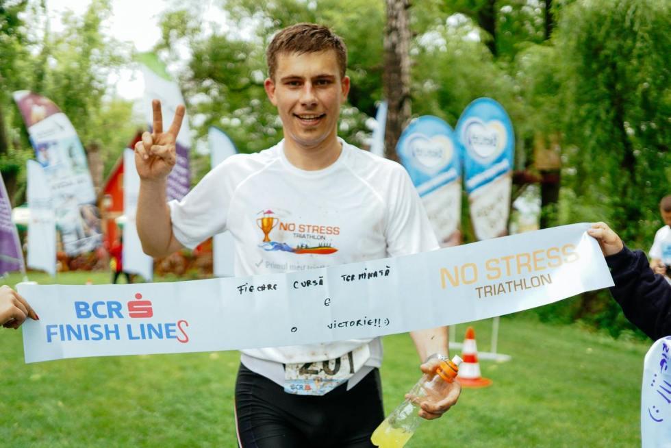 NoStress Triathlon Mogosoaia 2014 - Finish Line